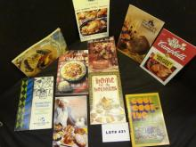 Twenty Eight cook books, various types, titles, etc. all one money, see photos for complete lot