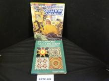 Two quilting books,