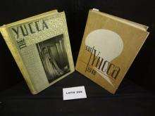 Two University of North Texas yearbooks, 1946 and 1948