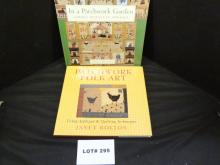 Two patchwork, applique and quilting books by Janet Bolton,