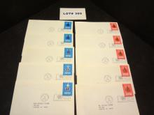 Ten United Nations first day covers, postmarked
