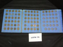 Lincoln head cent collection starting 1941, complete thru 1964
