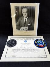 FBI National Academy graduation certificate
