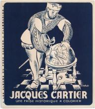 Vintage 1946 Albums du Pere Castor French Coloring Book