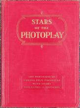 Vintage 1930 Book STARS OF PHOTOPLAY Portraits of Film