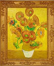 VINCENT VAN GOGH (1853-1890), SUNFLOWERS
