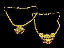 Two Thai Gold Necklaces