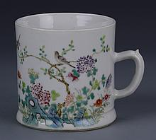 Chinese Famille Rose Tea Mug