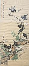 Chinese Framed Painting Signed