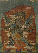 Chinese Tibetan Thangka