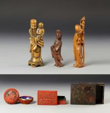 Group of Chinese and Japanese Items