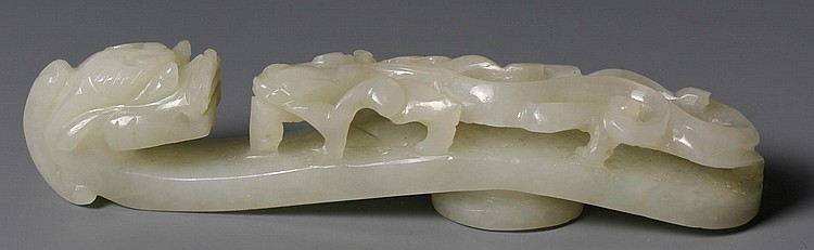 Chinese Jade Buckle