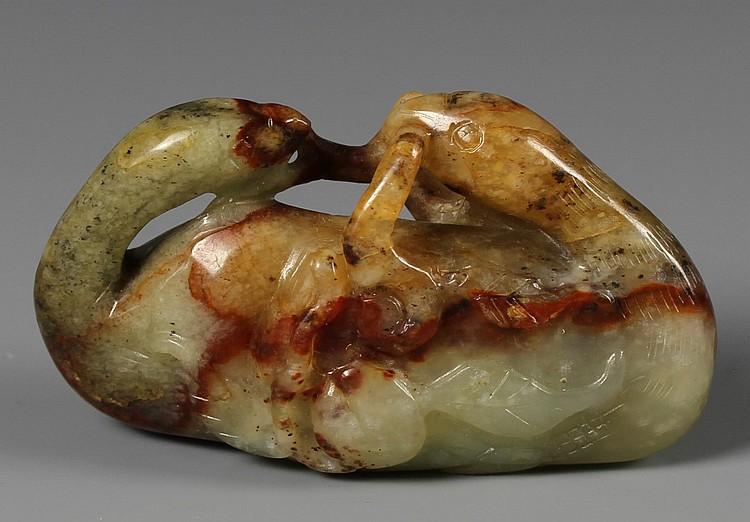 Chinese Jade Mandarin Duck