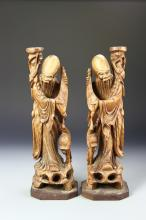 Chinese Shoulao Figures