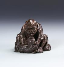 Chinese Bamboo Carved Figure