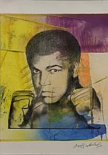 Mohamed Ali Silkscreen