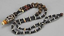 Tibetan Z Bead Necklace