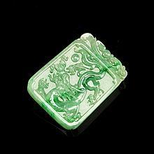 Chinese Jadeite Pendant