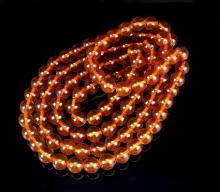 Chinese 108 Amber Beaded Prayer Beads