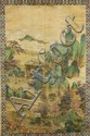 Chinese Scroll Painting Signed Qiu Ying