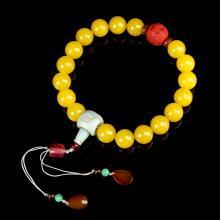 Chinese Jade Prayer Beads
