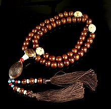 Chinese Puti Beaded Necklace