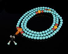 Chinese Turquoise Necklace