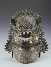 Tibetan Bronze Mask
