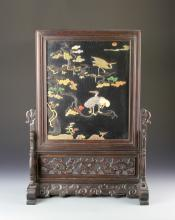 Chinese Wood Table Screen