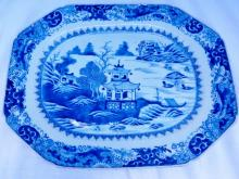 Nanking Chinese Export 19th Century Platter