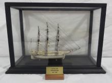 Whaler Swordfish Miniature Bone Model Attr Sayles