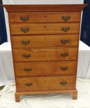 Antique Chippendale Tall Chest