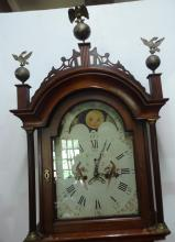 19th Century Mahogany Tall Clock