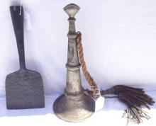 Sea Captain's Bull Horn & Blubber Spade