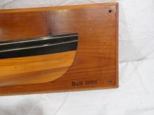 Brit Bugge Half Hull Model