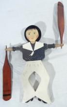 Signed Lincoln Ceely Sailor Whirligig