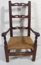 Circa 1800 Primitive Child's Chair