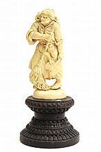 A fine German ivory sculpture