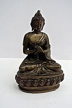 A beautiful Tibet gilded bronze Buddha sculpture