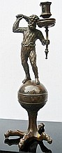 A German bronze sculpture of Hercules
