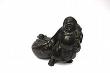 A Chinese Bronze Inkwell