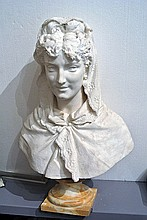 A Bust of Queen Elena of Montenegro