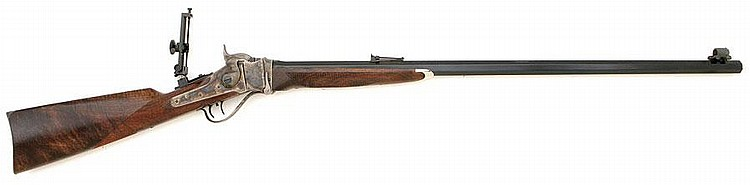 Pedersoli Model 1874 Sharps No. 3 Falling Block Sporting Rifle