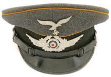 German Luftwaffe Officer'S Schirmmôtze by Mascotte Sport
