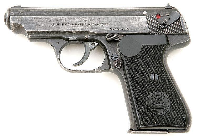 J P Sauer Amp Sohn Model 38h Military Pistol