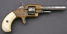 Lovely Engraved Whitneyville Model 1 Pocket Revolver