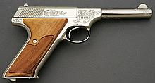 Factory Engraved Colt Huntsman Semi-Auto Pistol