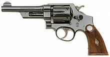 Smith & Wesson 44 Hand Ejector Revolver With Presentation From The Phoenix Police Department