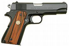 Rare Colt Commander Lightweight Semi-Auto Pistol