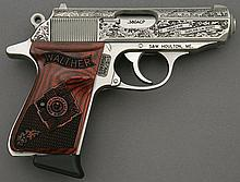 Walther Royal Scot PPK/S Engraved Semi-Auto Pistol